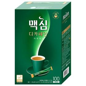 맥심 디카페인 커피믹스 100T