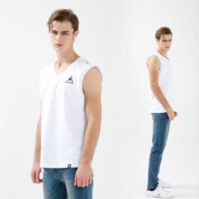 남자 나시 V 민소매 티셔츠 남성 나시티/ 헬스복 3N14