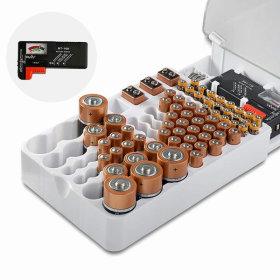 건전지보관함 건전지정리 배터리테스터기 수납정리