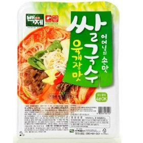 백제 육개장맛 쌀국수 어머니손맛 92g 30개