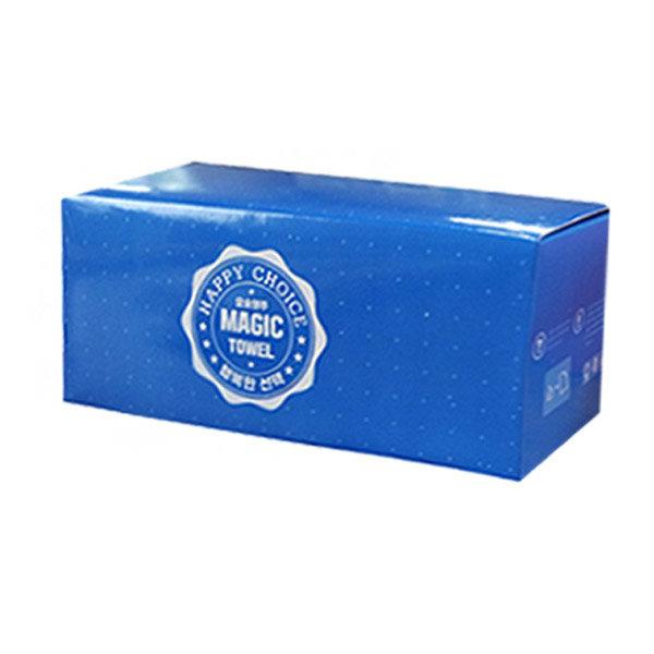 요술행주 일반형 블루 10매/압축행주/세탁가능/판촉 상품이미지