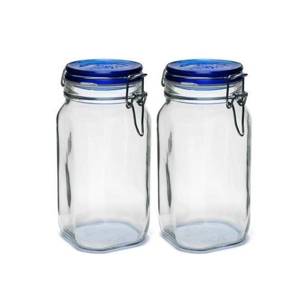 보르미올리 유리 피도병 1500ml 블루 2개세트 (2008079) 상품이미지