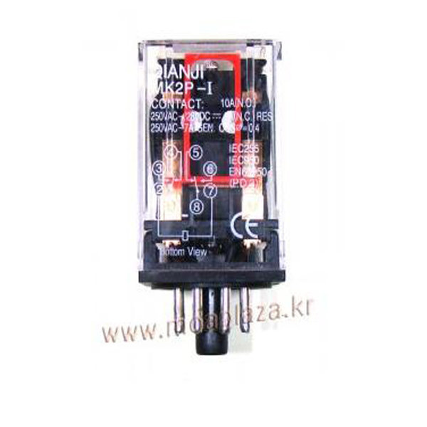 8핀릴레이220V MK2P-1  220V릴레이 전기공사실기부품 상품이미지
