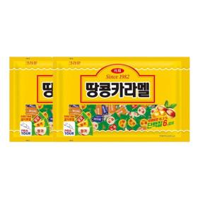 땅콩카라멜 720g 2팩