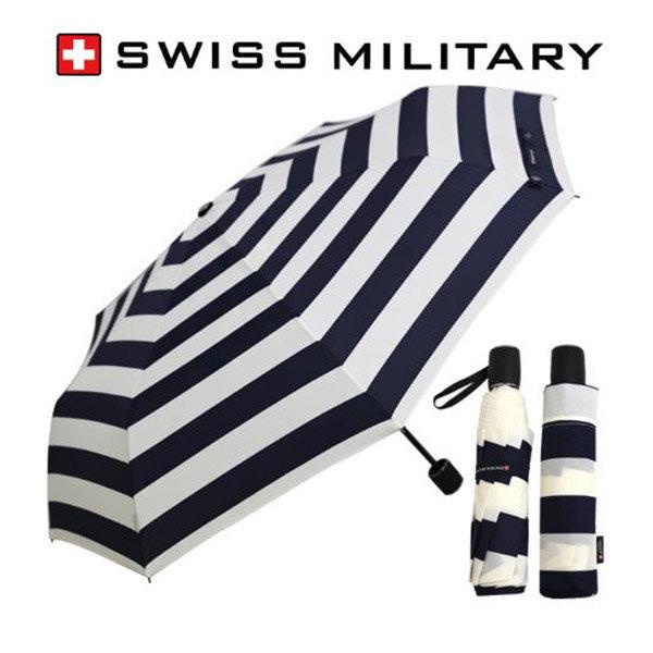 3단 수동 네이비스트라이프 우산 고급 브랜드 선물 상품이미지