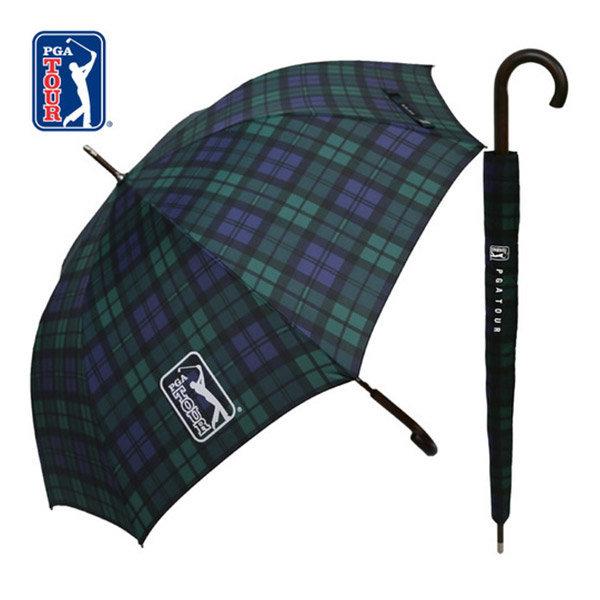 70자동 글렌체크우드 우산 장우산 고급 브랜드 선물 상품이미지