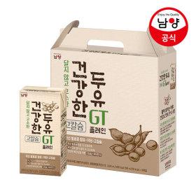 맛있는두유GT(건) 플레인 190mlX16팩 100%국산발효콩