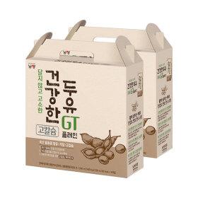맛있는두유GT(건) 플레인 190mlX32팩 100%국산발효콩