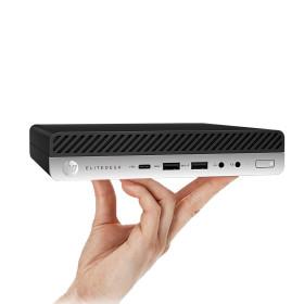컴퓨터 더블UP 폰만한 미니PC i5 4세대 HP800G1 윈10