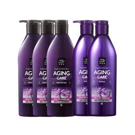 mise en scene Aging Care Power Berry Shampoo 680ml 3pcs+Rinse 2pcs