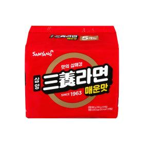 삼양라면 매운맛 120g x 5봉 멀티/라면모음
