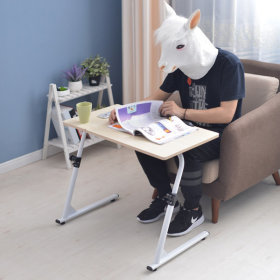 OMT 접이식 높이조절 거실 소파 테이블 책상 ONA-S1