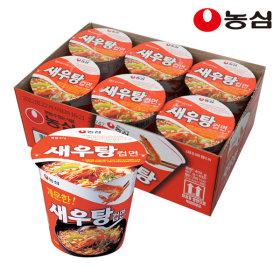 새우탕컵 67g 6개입