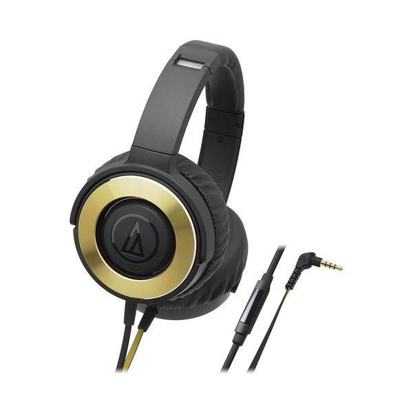 ATH-WS550iS 솔리드 베이스 헤드폰 블랙골드 상품이미지