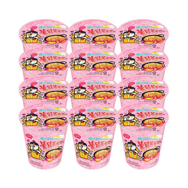 까르보 불닭 볶음면 80g x 12개 박스 포장 상품이미지