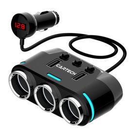 차량용 멀티 시거잭 소켓 고속 급속 충전기 USB CT-409
