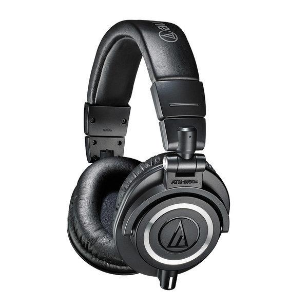 ATH-M50x 프로 스튜디오 모니터링 헤드폰 블랙 상품이미지
