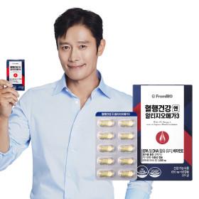 프롬바이오 혈행건강엔 알티지오메가3 60캡슐x1박스