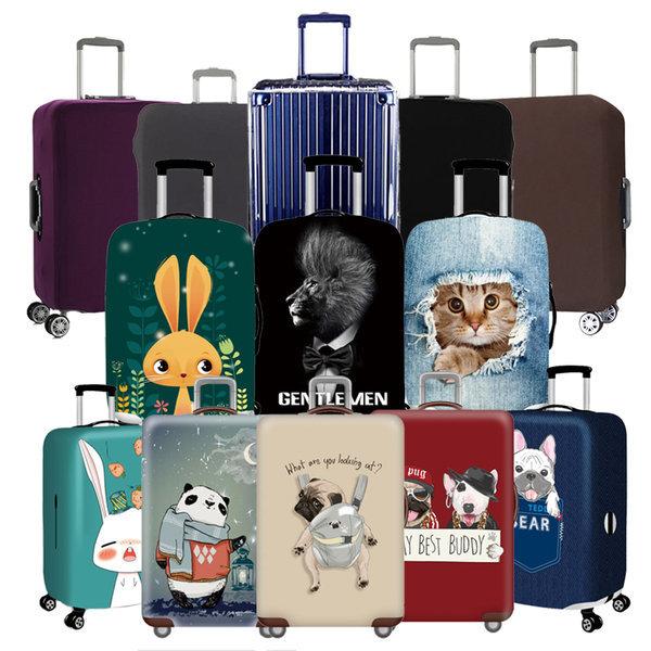 온스 여행가방 방수 PVC 투명 스판  캐리어 커버모음 상품이미지
