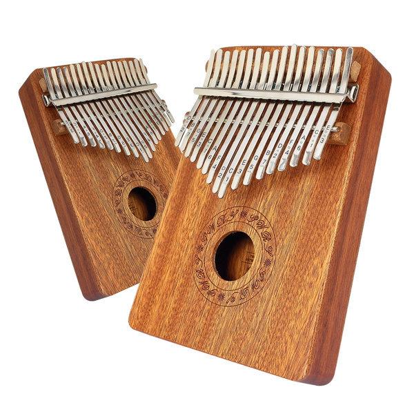 엄지손가락피아노 칼림바 17음계 마호가니 상품이미지