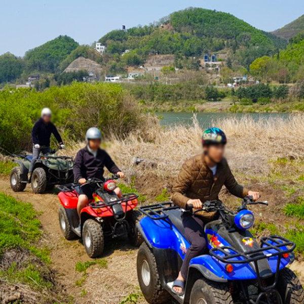 청평 워터피아 산악오토바이(ATV)체험(모바일티켓) 상품이미지