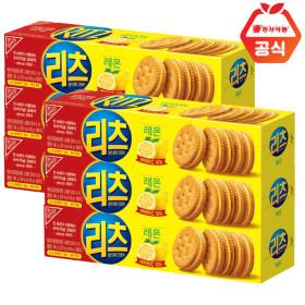 리츠 샌드위치 레몬 크래커96gx6개