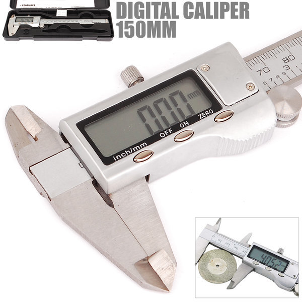 실버 디지털 버니어 캘리퍼스 노기스 정밀측정공구 상품이미지