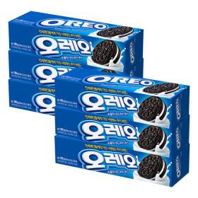 오레오 화이트 크림 샌드 쿠키 100g x 6개