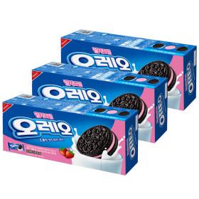 오레오 딸기크림 샌드 쿠키300g x3개