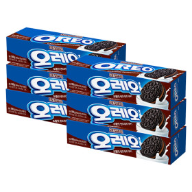 오레오 초코 크림 샌드 쿠키 100g x 6개