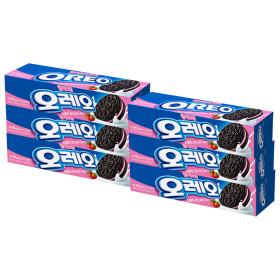 오레오 딸기 크림 샌드 쿠키 100g x 6개