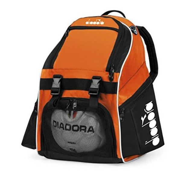 Diadora Squadra II Soccer Backpack (Orange) 상품이미지
