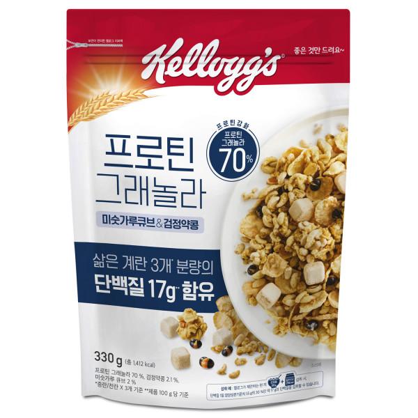 프로틴 그래놀라 미숫가루큐브 / 검정약콩 상품이미지