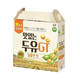 맛있는 두유 GT 달콤 190ml 64입