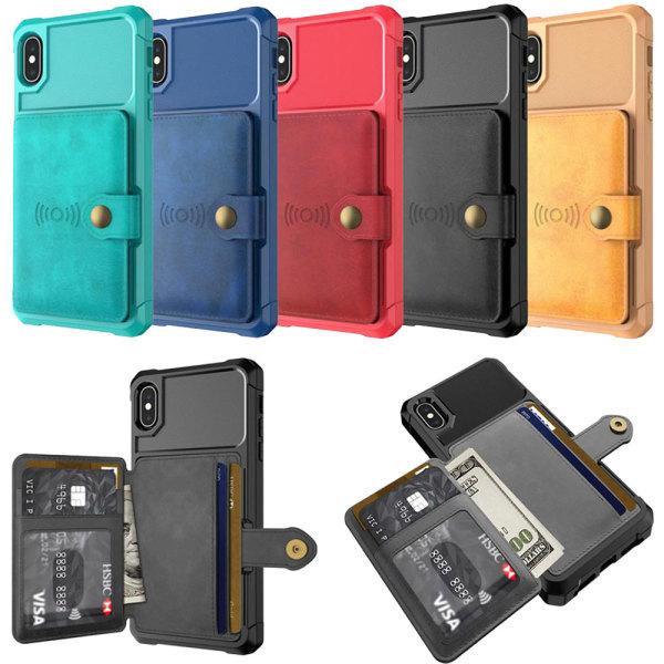 아이폰 카드 수납 포켓 마그네틱 거치대 휴대폰케이스 상품이미지