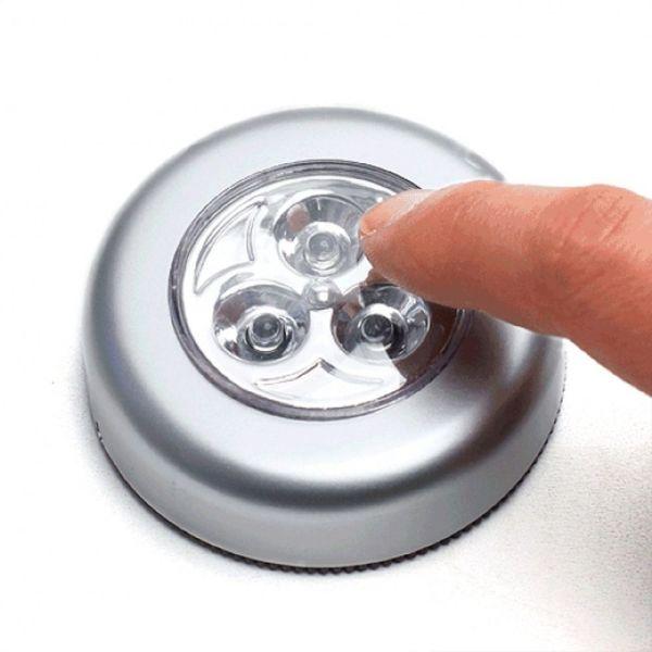 3구 LED 터치 라이트 실내외조명 비상등 3구라이트 3 상품이미지