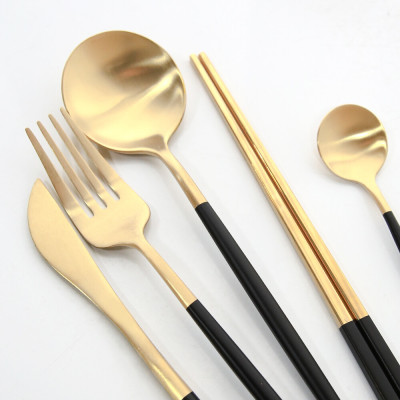 Spoons/Chopsticks/Black