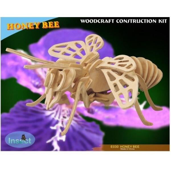 3D WOODCRAFT KIT/우드크래프트 꿀벌(35cm) 상품이미지