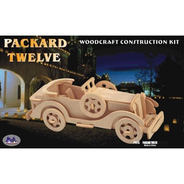 3D WOODCRAFT KIT/우드크래프트 클래식오픈카-1(27cm) 상품이미지