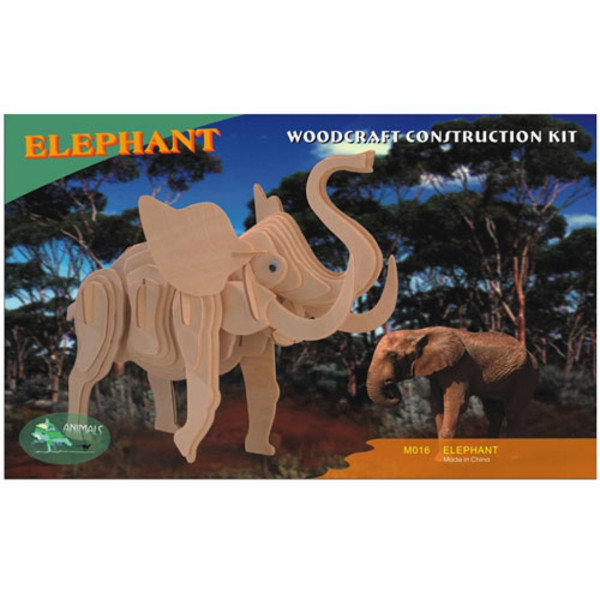 3D WOODCRAFT KIT/우드크래프트 코끼리 상품이미지