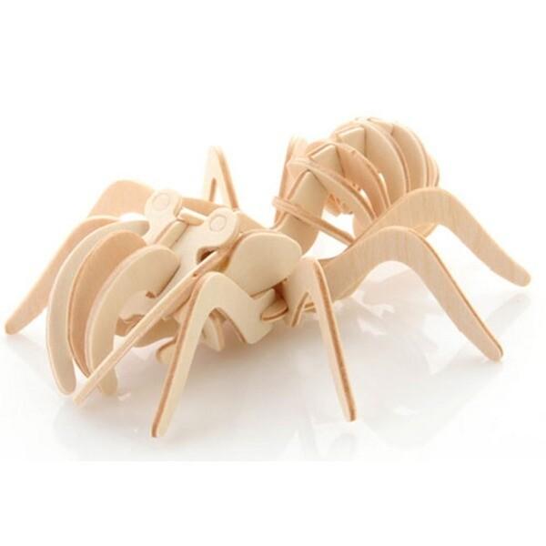 3D WOODCRAFT KIT/우드크래프트 미니 거미 상품이미지