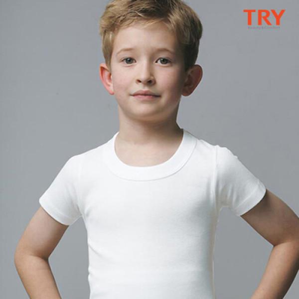 (AK몰)(TRY)(TRY) 아동속옷 키즈남티셔츠 세트 상품이미지
