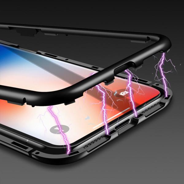 아이폰 XS XR MAX 마그네틱 풀커버 알루미늄 케이스 상품이미지