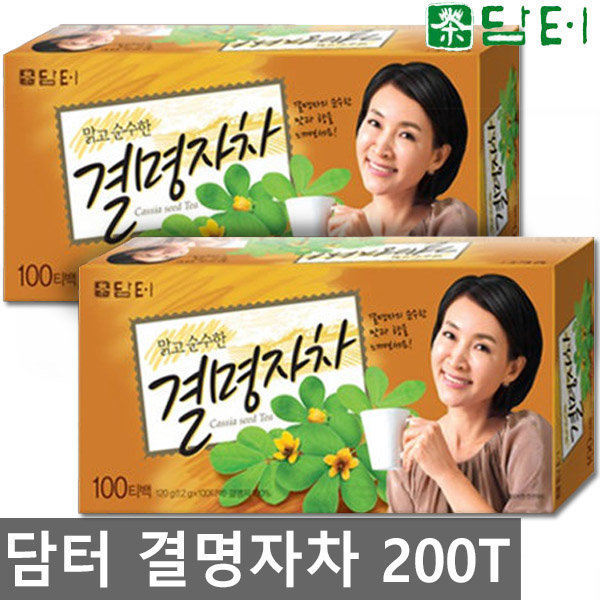 담터 결명자차 100TX2개 총200T/커피/차/티백/녹차 상품이미지