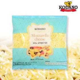 코다노 자연치즈99% 모짜렐라 치즈 피자치즈 1kg