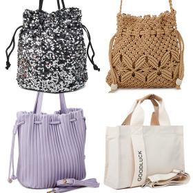 여름 신상 숄더 백 에코 면 핸드 크로스 여성 가방