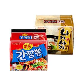 볶음 간짬뽕 멀티(5봉)+나가사끼 짬뽕 멀티(5봉)