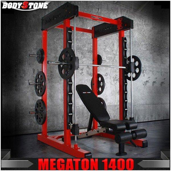 바디스톤 - 메가톤-1400 스미스머신/근력기구/파워랙 상품이미지