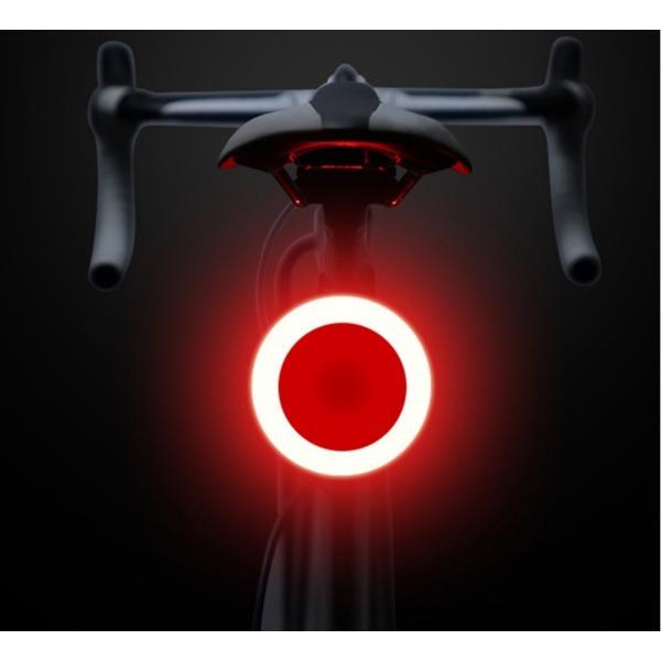 자전거 후미등 충전식 LED 후미등 MTB 미등(동그라미) 상품이미지