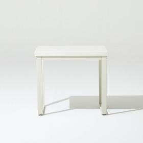 프레임 스틸 대리석 2인 식탁 (의자 미포함)